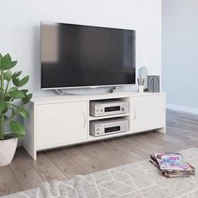 Móvel de TV 120x30x37,5 cm contraplacado branco