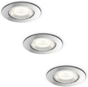Philips 59008/11/P0 - CONJUNTO 3x Iluminação de casa de banho LED DREAMINESS 3xLED/4,5W IP65