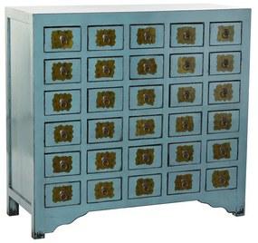 Cómoda DKD Home Decor Metal Madeira de olmo (106 x 42 x 99 cm)