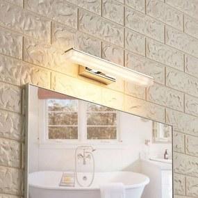 Candeeiro de casa de banho moderno cromado de 32 cm com LED IP44 - Julie Moderno