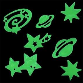 Autocolantes Estrelas e Planetas Brilhantes