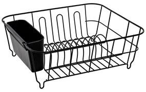 Escorredor de Louça DKD Home Decor Preto Metal (33 x 36.5 x 13.5 cm)