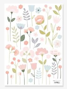 Autocolantes, Lilipinso rosa claro estampado
