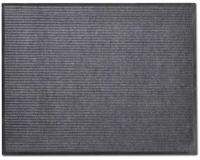 241277 vidaXL Tapete cinzento para porta em PVC 120 x 180 cm