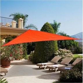 Toldo Vela 3x3x3m Triangular para varanda jardim Terraço Camping vermelho