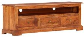 247759 vidaXL Móvel de TV 120x30x40 cm madeira de acácia maciça