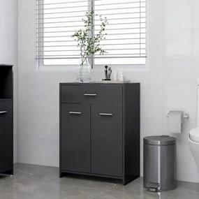 805026 vidaXL Armário de casa de banho 60x33x80 cm contraplacado cinzento