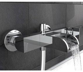 429345 SCHÜTTE Torneira misturadora WC c/ boca em cascata IDROVIA cromado