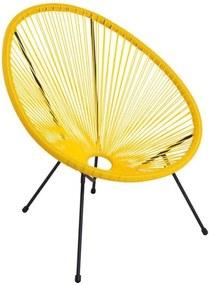 Cadeira Estocolmo Cor: Amarelo