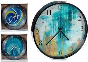 Relógio de Parede Preto 3 (30 x 4 x 30 cm)