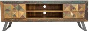 Móvel TV madeira rústico