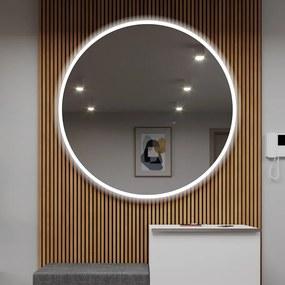 Espelho para Banheiro com Iluminação LED L76    o=40 cm