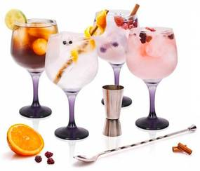 Conjunto gin tonic 6 peças JOM CAR22300GINU