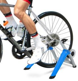 HOMCOM Rolo de Bicicleta com Resistência Ajustável de 8 Níveis 77x56x47,5 cm Azul