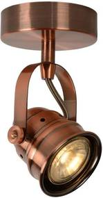 Lucide 77974/05/17 - Foco LED CIGAL 1xGU10/5W/230V cobre
