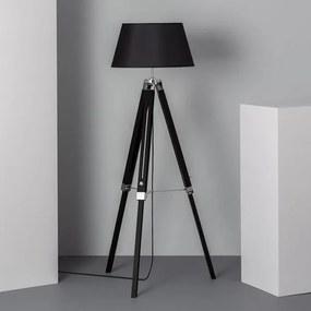 Luminária de chão Ledkia Naweza Madeira Alumínio 40 W (1440x650x650 mm)