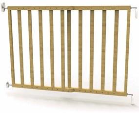 419486 Noma Barreira de segurança extensível 63,5-106cm madeira natural 93729