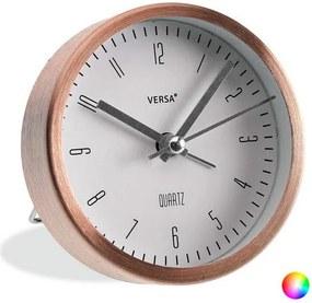 Relógio-Despertador Alumínio (3,9 x 9 x 9 cm) - Dourado