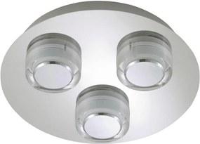 Briloner 2257-038 - Luz de teto de casa de banho LED SURF 3xLED/5W/230V IP44